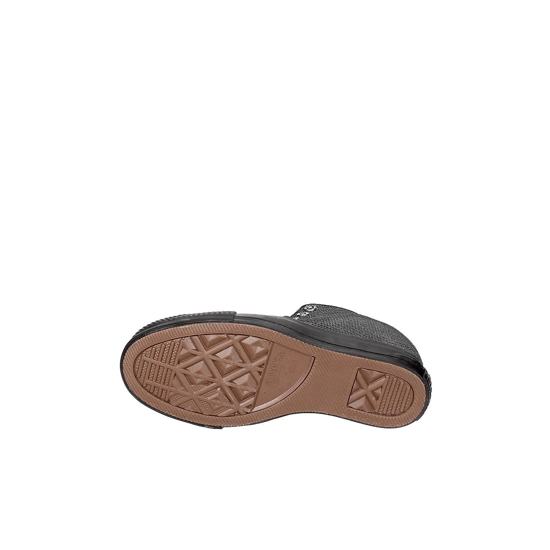 Converse Damen hohe Schuhe Chuck Chuck Chuck Taylor LUX MID mit schwarzen Pailletten und Keil 559048C 232a21