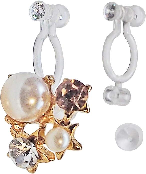 earring clip clip on earring converter findings clip 8pairs clip on earrings non pierced ears plated earring clip