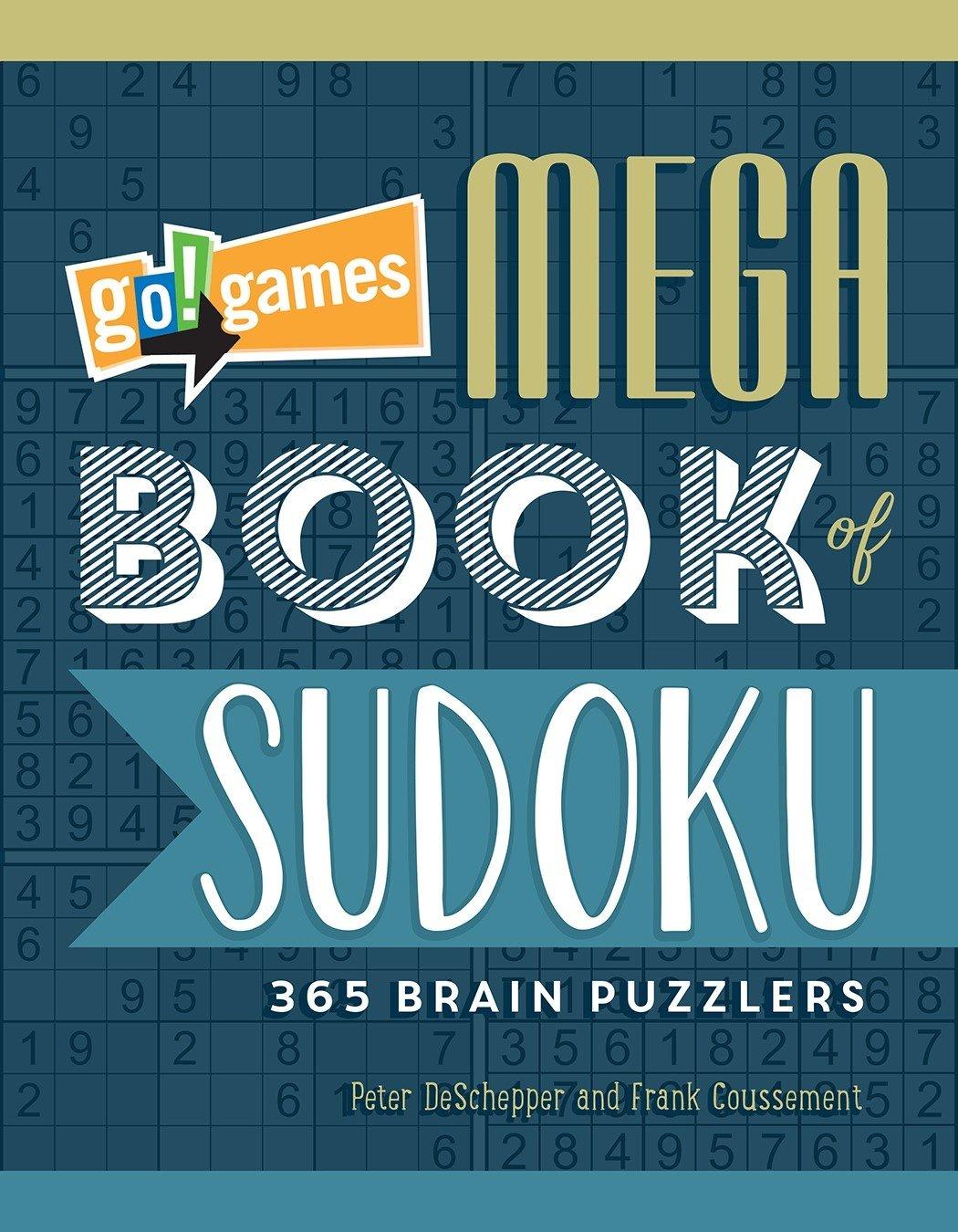Go!Games Mega Book of Sudoku: 365 Brain Puzzlers ebook