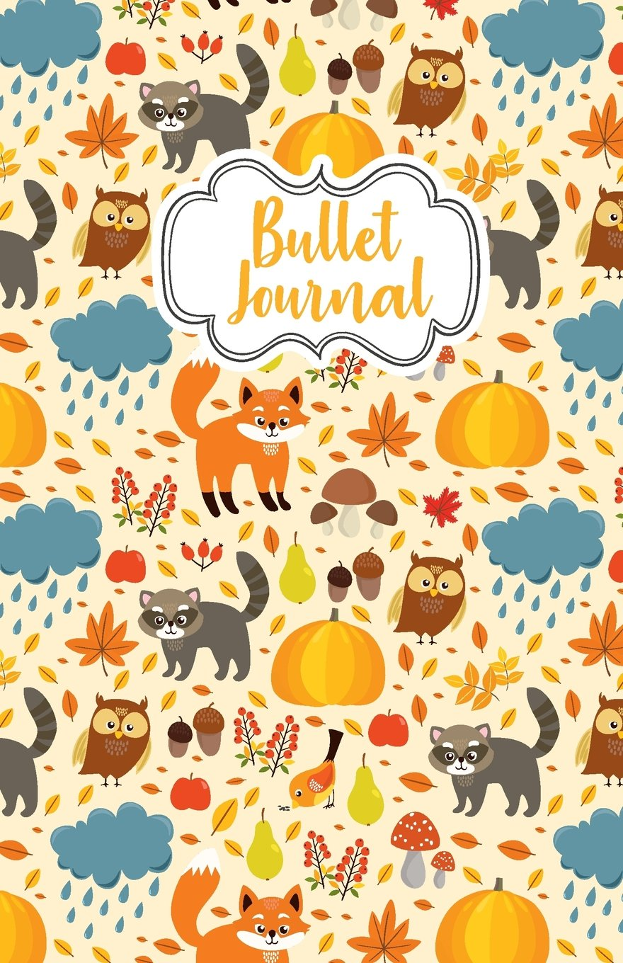 """Bullet Journal: Cute Owl Cover : Notebook, Bullet Journal Dotted Grid, 100 pages (5.5"""" x 8.5"""")"""