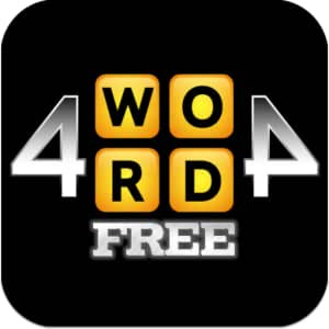 4WORD4 Word Game Free
