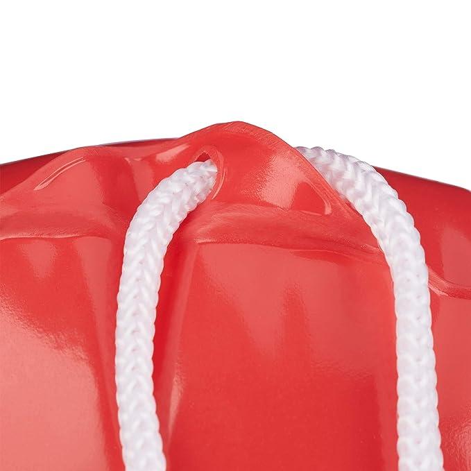Relaxdays, Rojo, Boya Inflable para Disfraz o Decoración, Plástico ...