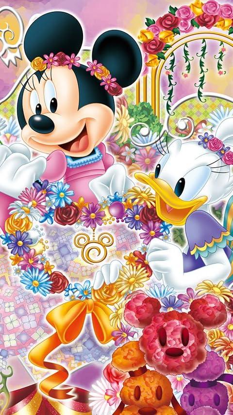 ディズニー ディズニー フローリスト XFVGA(480×854)壁紙画像