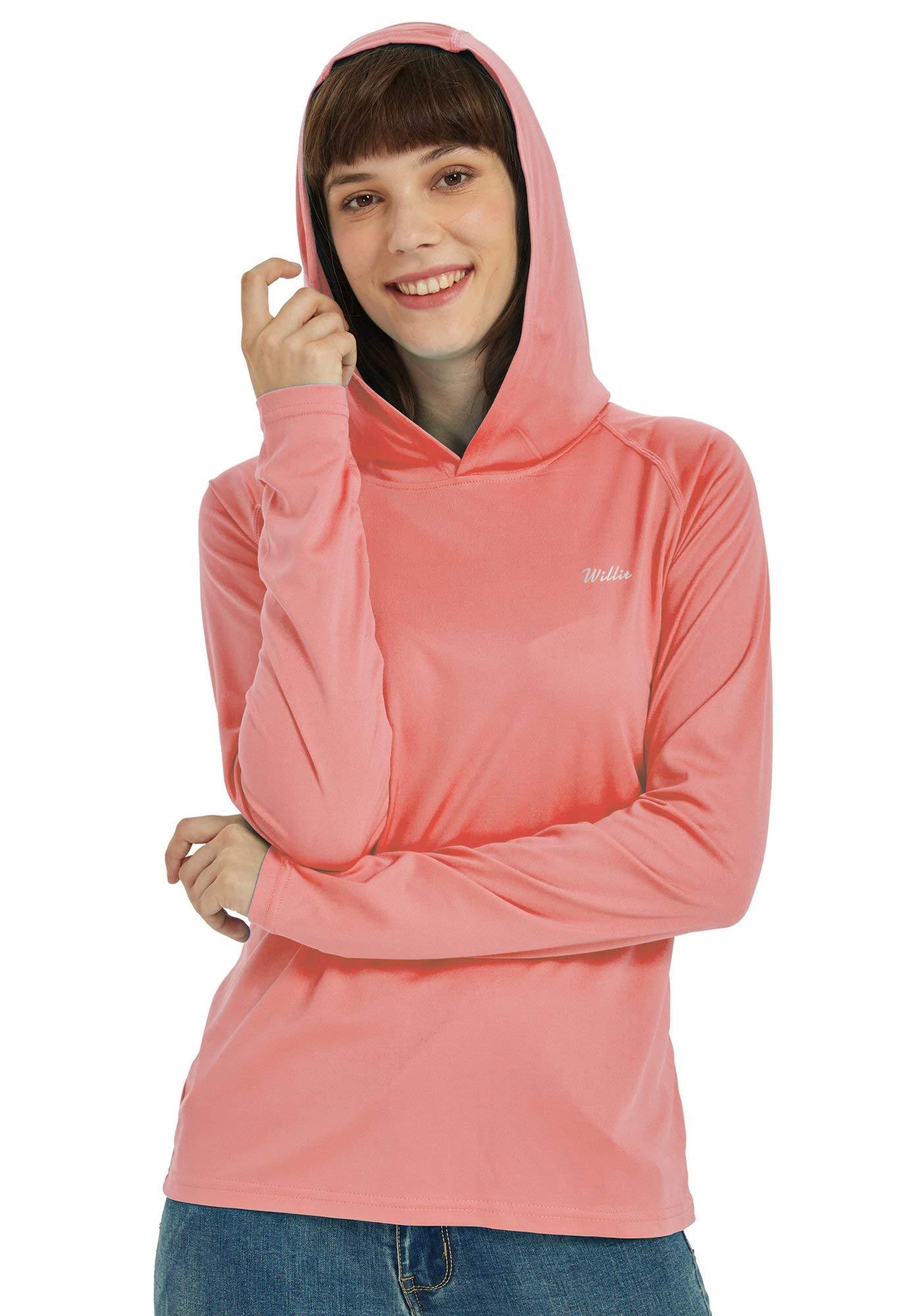 Willit Women's UPF 50+ Sun Protection Hoodie