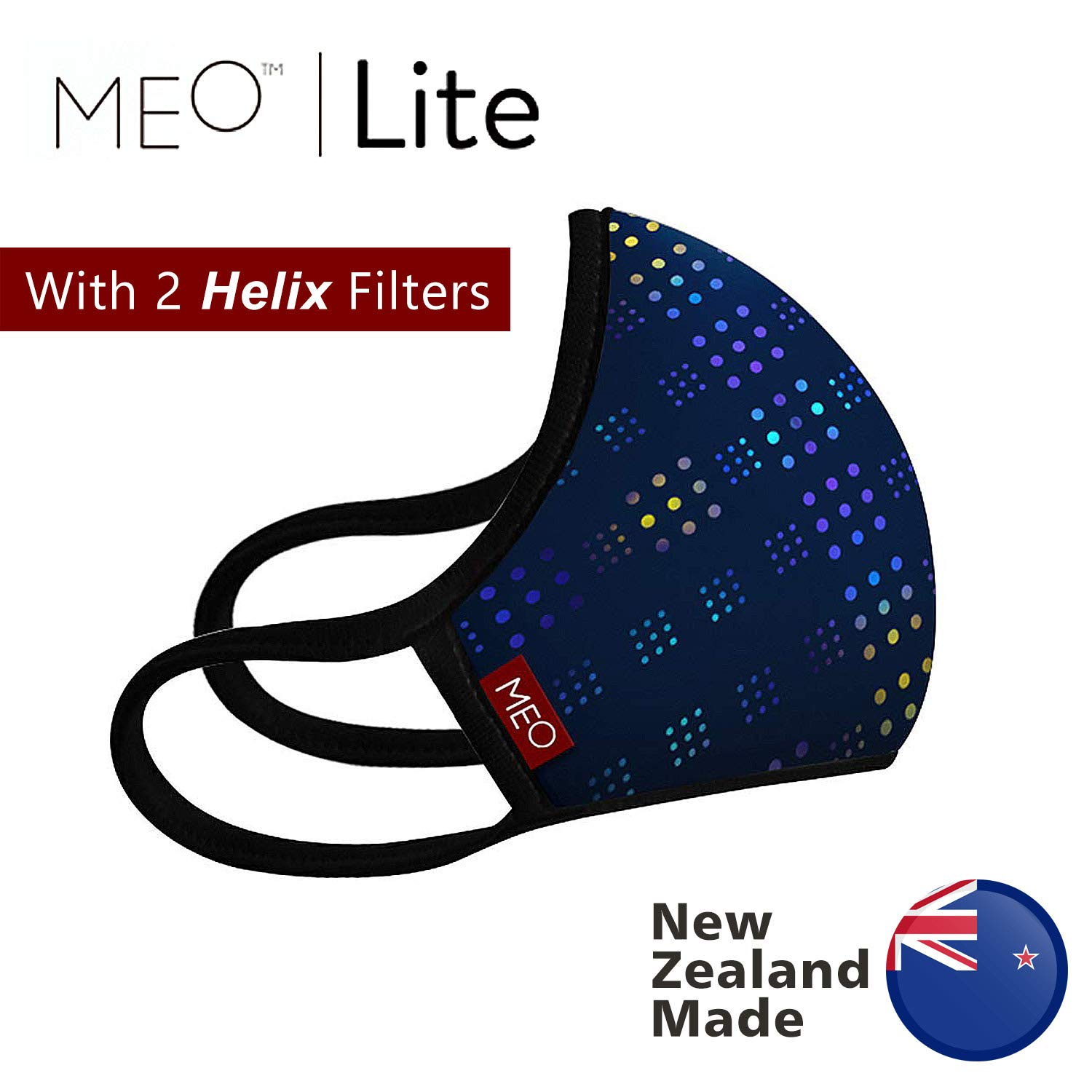 New Zealand MEO Mask for Smog Flu Pollen Dust Allergy Protection, Anti Dust Mask Respirator Anti-Bacterial Reusable Respirator, Windproof Dust Proof Anti Pollen Allergy Anti-Dust mask (City) by MEO-AIR