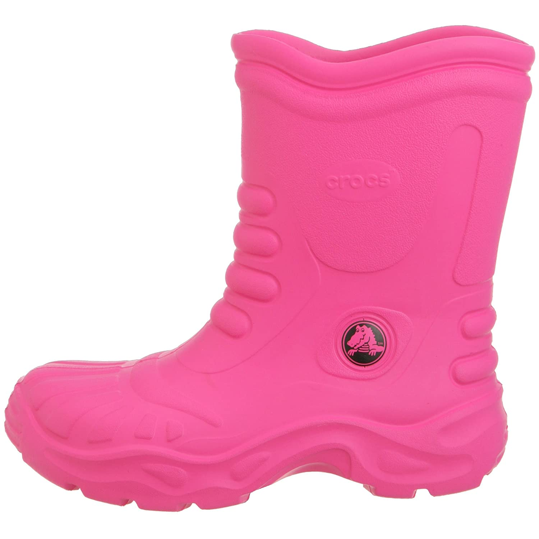 2bcec5fac02a1a Crocs Georgie Wellington Boots Fuchsia UK 4  Amazon.co.uk  Shoes   Bags