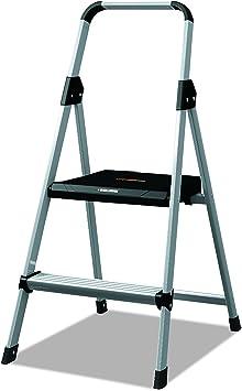 Gray Black /& Decker BXL4360-03 Two Step 200 lb Capacity Steel Stool