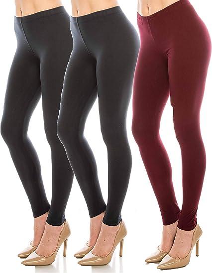 Leopard Print Leggings Soft Comfortable Stretch Warm Pants