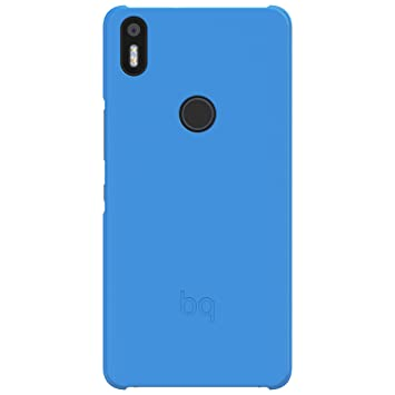 BQ Candy - Funda para Aquaris X5 Plus, Color Azul