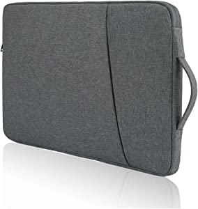 17 17.3 Inch Laptop Carrying Case Sleeve, for Men & Women, Compatible with HP Envy 17/Lenovo L340 17.3/Asus TUF Gaming 17.3/Dell Inspiron 17/Pavilion 17 (Dark Grey)