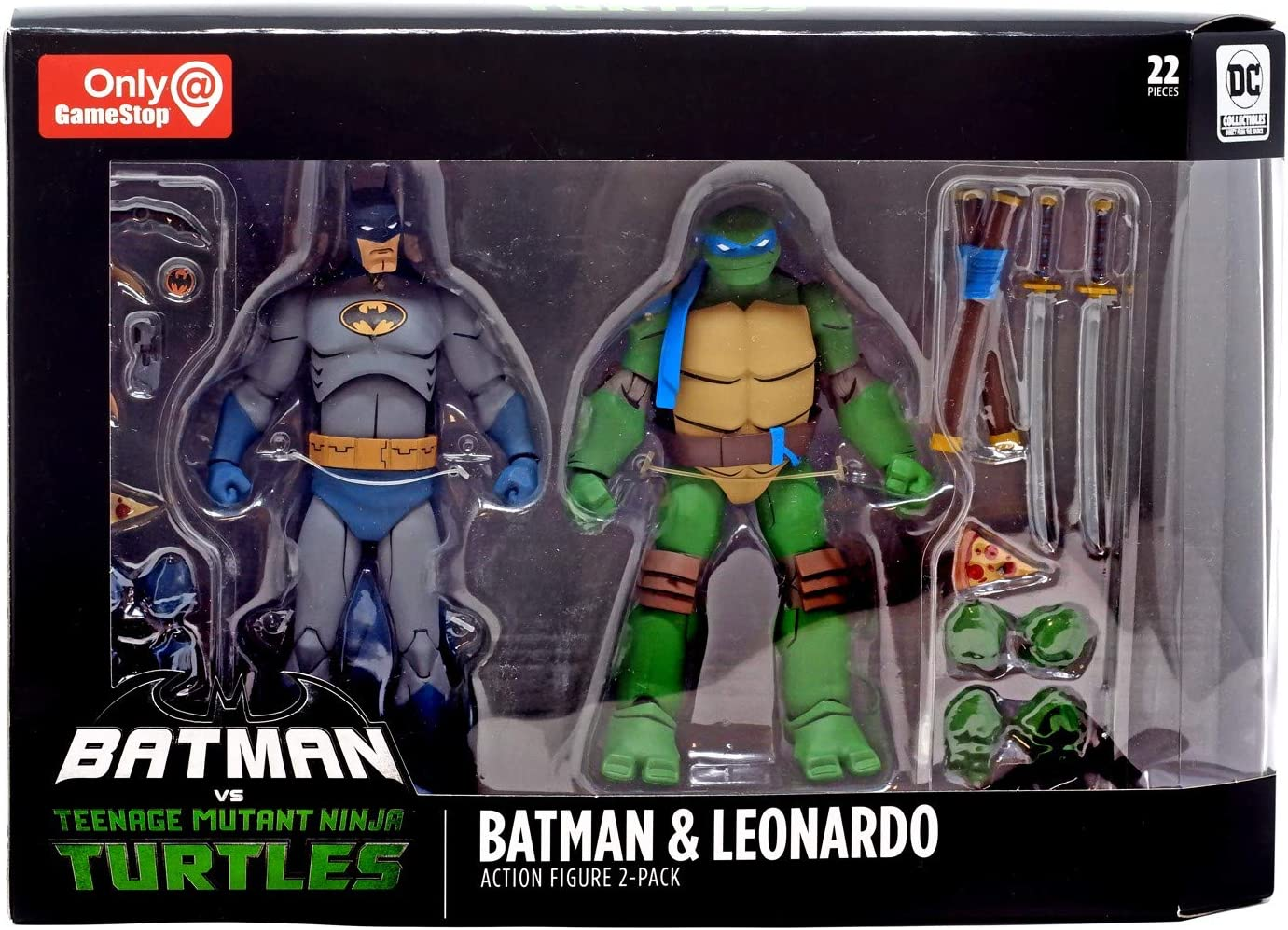 DC Collectibles Batman VS TMNT - Batman & Leonardo