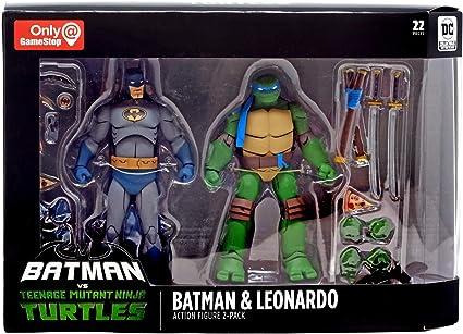DC Collectibles Batman VS TMNT - Batman & Leonardo