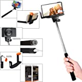 PNY BSS-101 Selfie Stick with Bluetooth Shutter (Black)