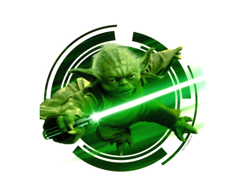 Imagen comestible para tartas de Yoda de Star Wars: Amazon ...