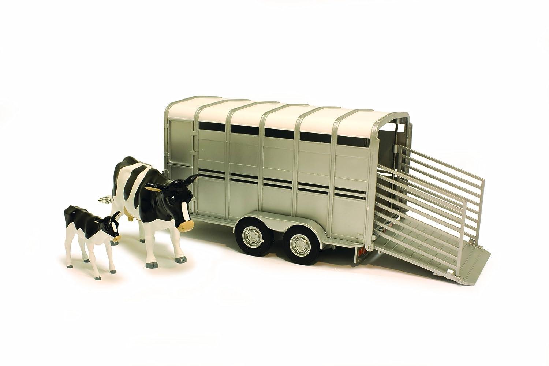 Britains Big Farm 46299M6 - John Deere 780 Düngerstreuer 42709 Big Farm Trailer With Cows