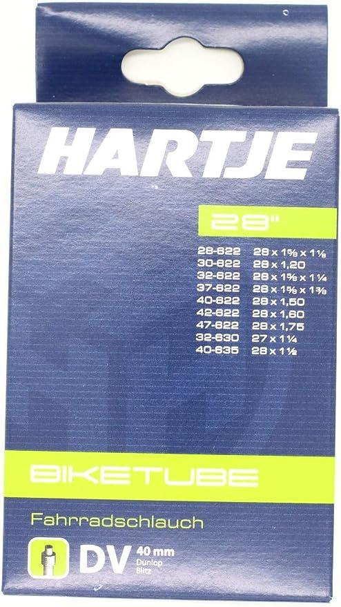 Hartje 7539208 - Cámara de aire para bicicletas (28) , talla ...
