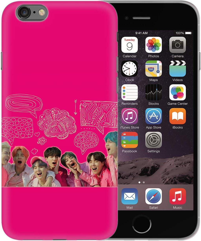 BTS Band Hip Hop Singer Artist Pink Life Fan_BEN0503 Protective ...