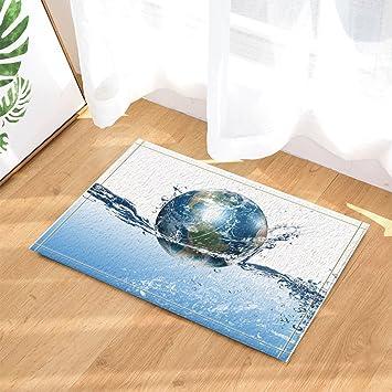 Gohebe Cearive Earth Decor Ein Earth Ball Float Auf Reinigen Wasser