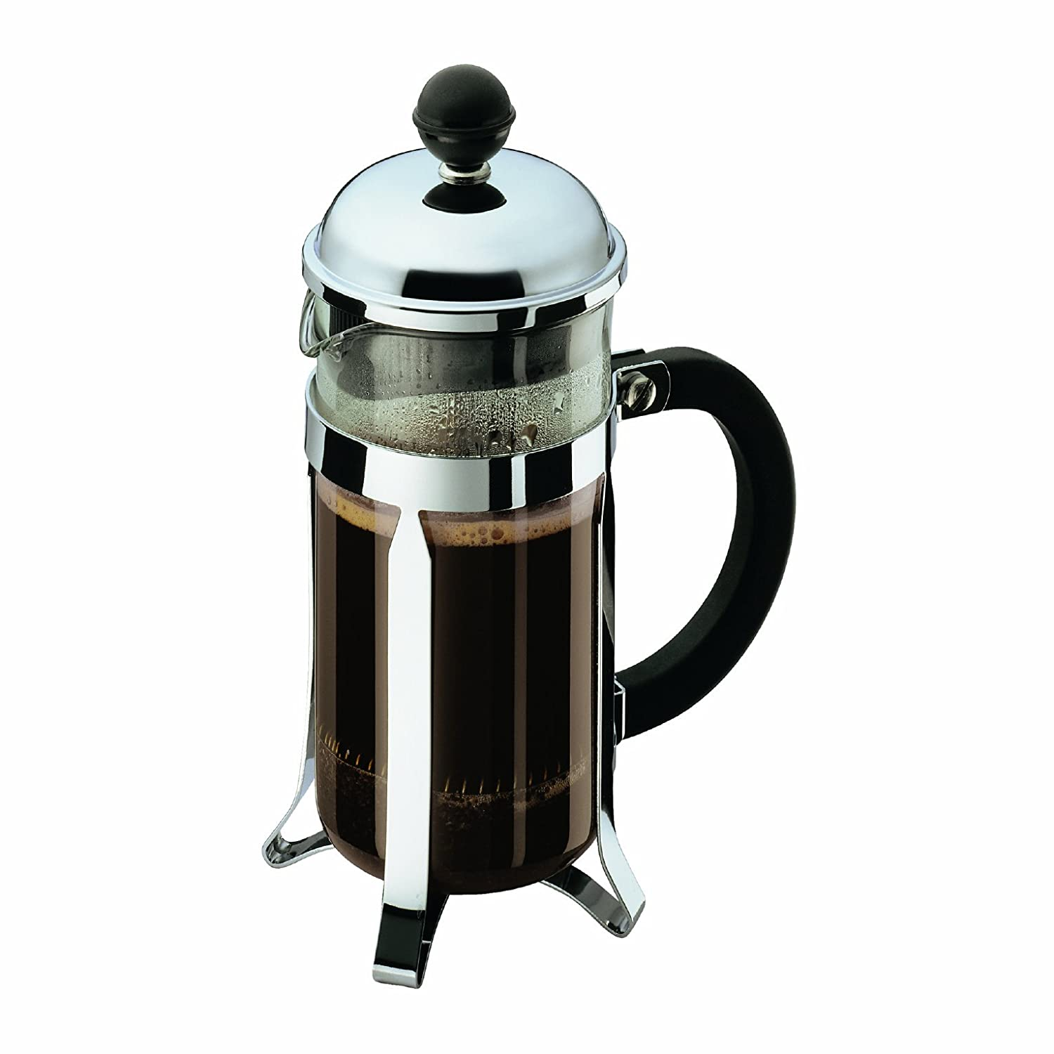 Bed bath beyond french press - Amazon Com Bodum Chambord 3 Cup Shatterproof French Press Coffeemaker 0 35 L 12 Ounce Kitchen Dining