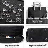 NewBring Messenger Bag for Men and Women Laptop Bag 14 Inch, Water Resistant Computer Satchel Crossbody Shoulder Bags Work School Sport Travel Casual Unisex