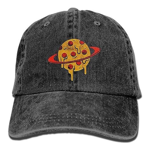 a41df935 lu fangfangc Men Women Classic Denim Pizza Planet Adjustable Baseball Cap  Dad Hat Low Profile Perfect for Outdoor BlackOne Size at Amazon Women's  Clothing ...