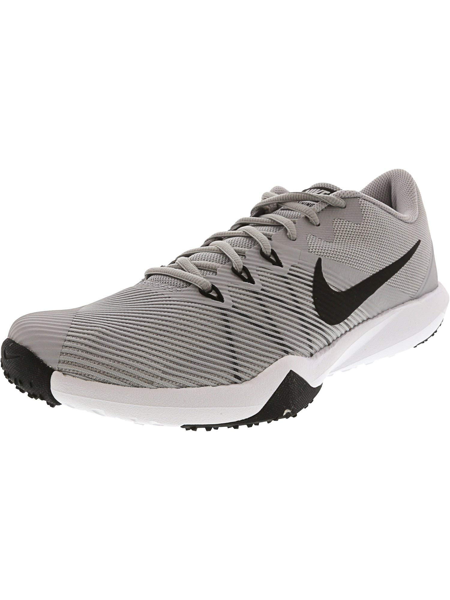 timeless design 8281a 051e2 Galleon - Nike Men s Retaliation Tr Wolf Grey Black - White Ankle-High  Fabric Training Shoes 8M