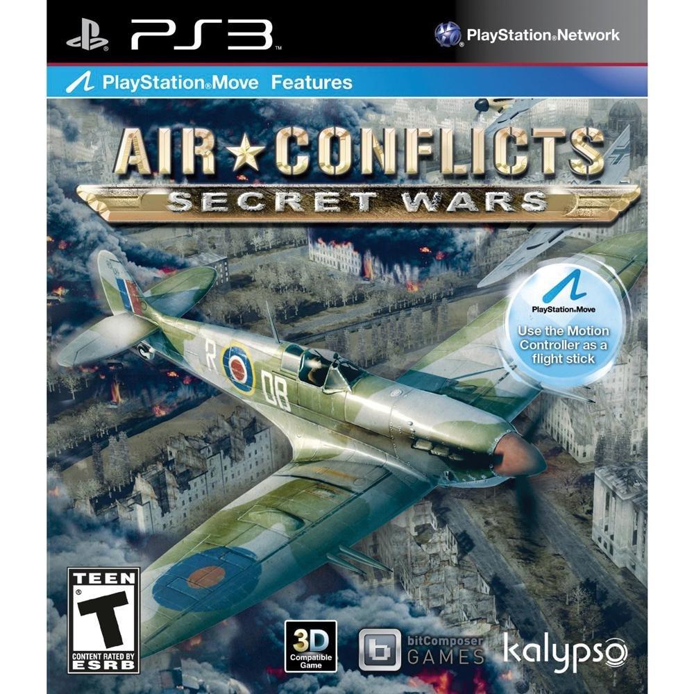 Amazon com: Air Conflicts: Secret Wars - PlayStation 3: Video Games