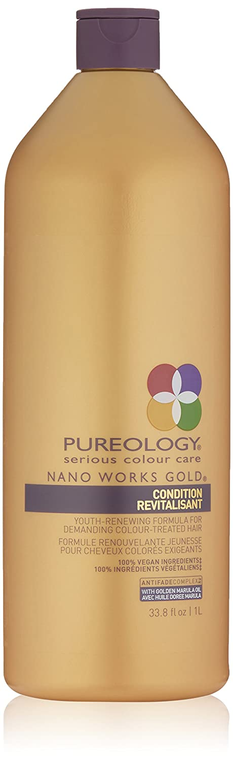 Image of Health and Household Pureology Nano Works Gold Conditioner Revitalisant