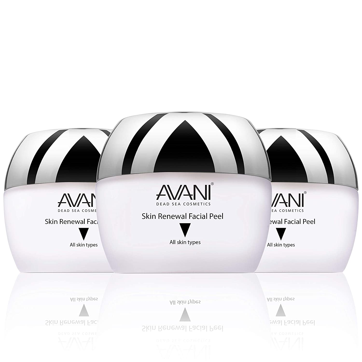 AVANI Classics Skin Renewal Facial Peel | Enriched with Vitamins E & C | Infused with Dead Sea Minerals - 1.7 fl. oz. (3-pack)