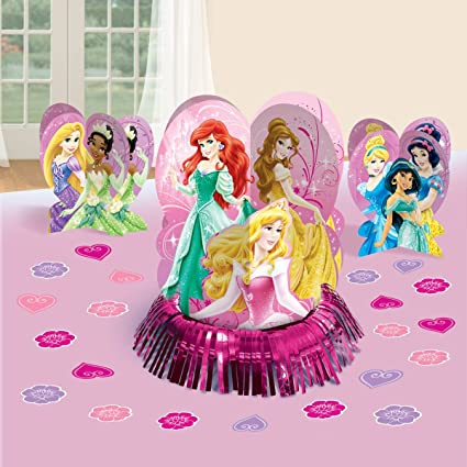 Image Unavailable Not Available For Color Disney Princess Sparkle Birthday Party Table Decoration