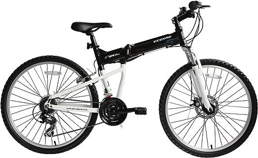 Bicicleta Mtb Plegable Ecosmo 26Af18Bl con Ruedas de 26\