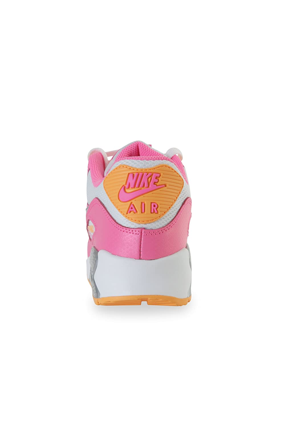 9ba64e5ea018 Nike Air Max 90 (GS) 345017 120 Pink   Orange UK 3.5-5.9  Amazon.co.uk   Shoes   Bags