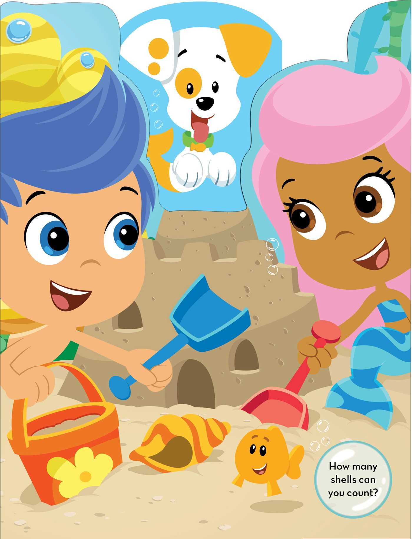 amazon com bubble guppies let u0027s play bubble puppy a peekaboo