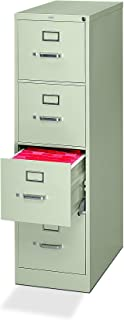 """product image for HON 320 Series Vertical File with 4 Drawers and Letter Width, 15"""", Light Gray"""