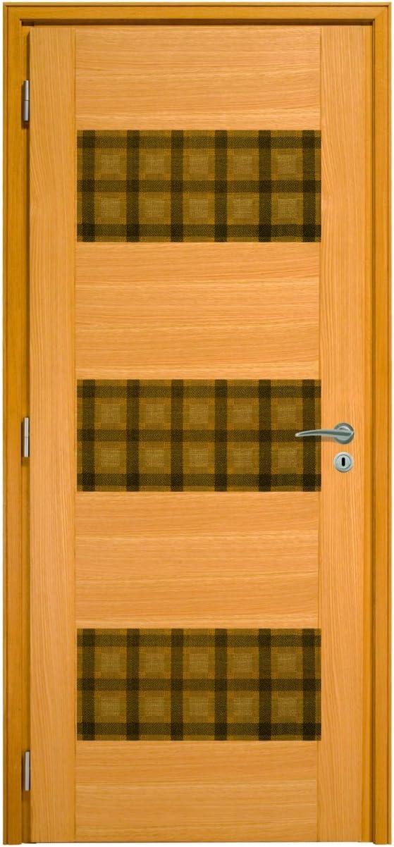 Bloque puerta interior Flat PFC-Paint Avera azul, 73: Amazon.es: Hogar