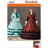 Simplicity 1818 Misses Costume Sewing Pattern, Size U5 (16-18-20-22-24)