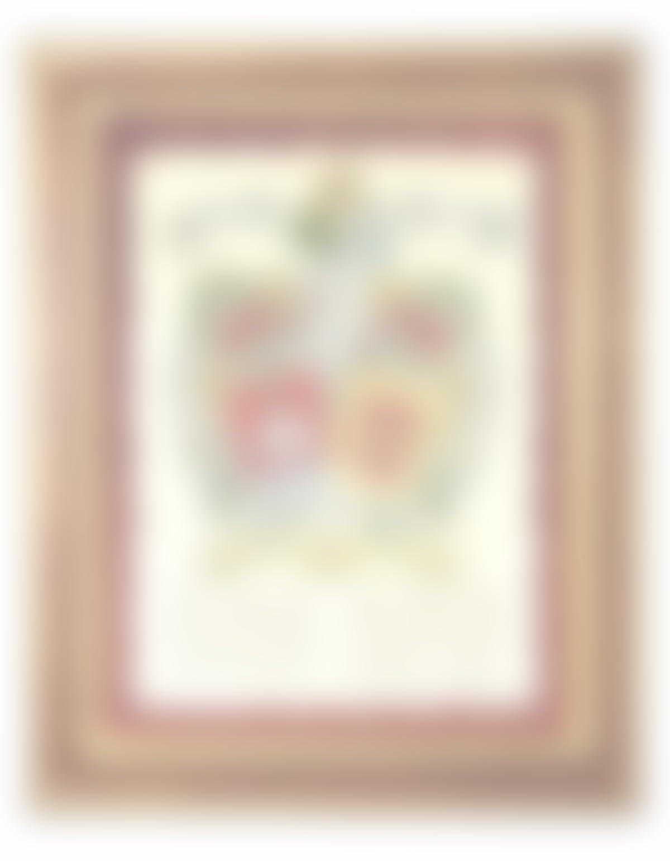 pergamino 2 apellidos vertical con marco: Amazon.es: Handmade