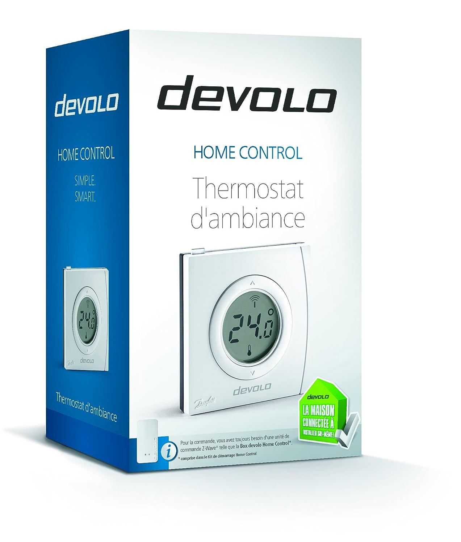 Devolo - Home control thermostat dambiance - homecontrol 9517 sala de economía de energía termostato - pack 1: Amazon.es: Bricolaje y herramientas