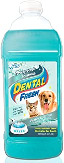 product image for Dental Fresh Water Additive - Original Formula for Dogs - Clinicially Proven, Simply Add to Pet's Water Bowl to Whiten Teeth, Eliminate Bad Breath, and Improve Oral Health (1/2 Gallon)