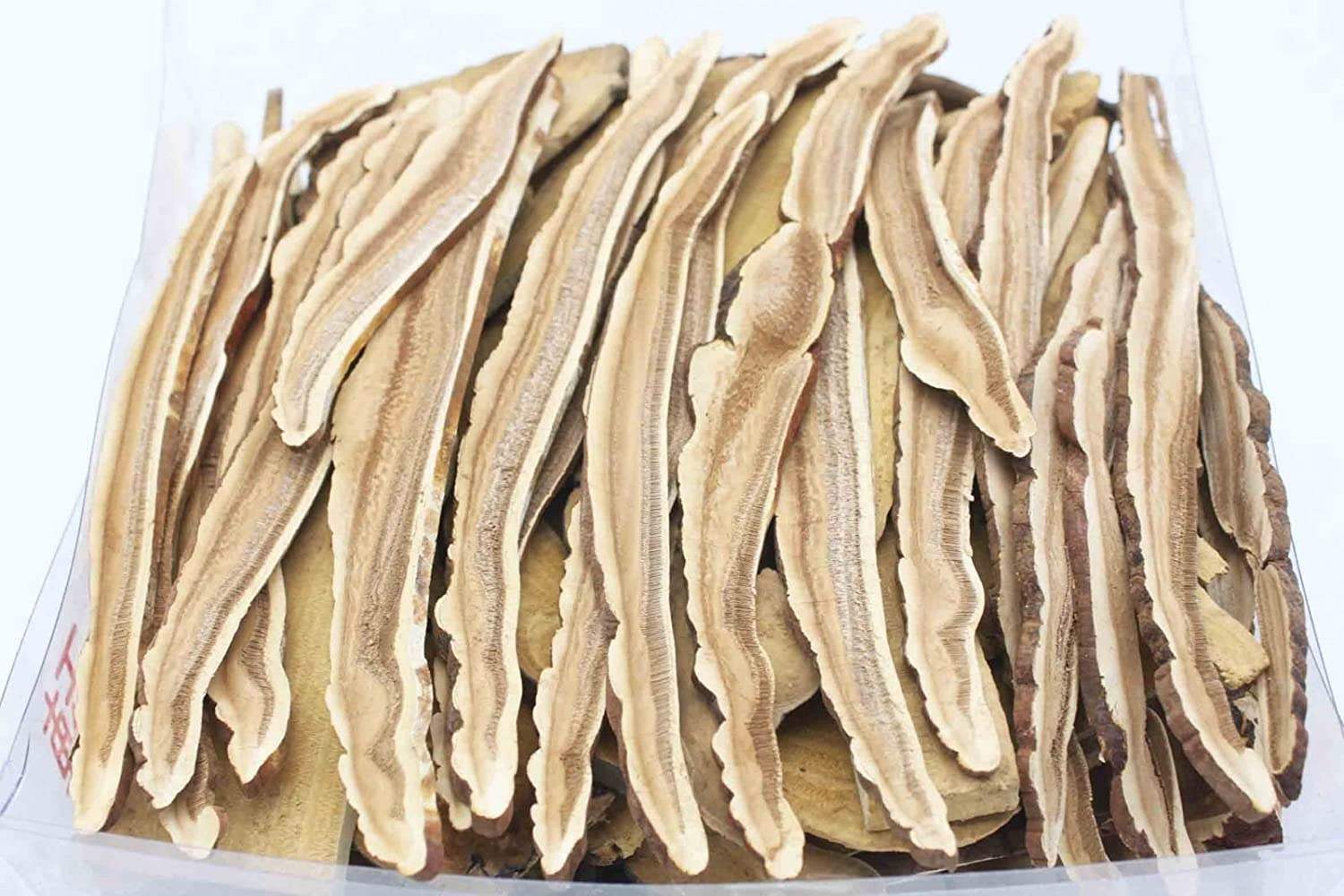 China Good Food Sliced Dried Lingzhi Reishi Mushroom Linh chi 靈芝片 灵芝片 FREE worldwide AirMail