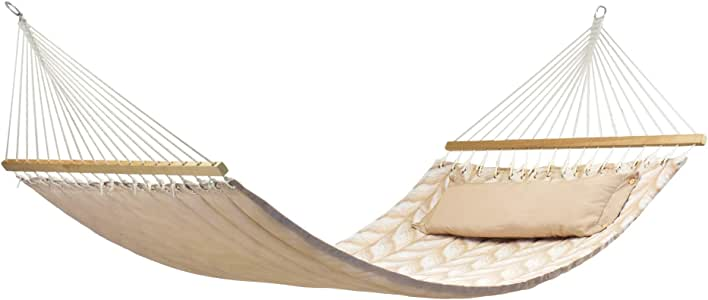 My Time MT301DQ My Time Quilted Rod Hammock 140cm x 220cm (55x86 inches) 200kgs (440lbs) Weight Capacity