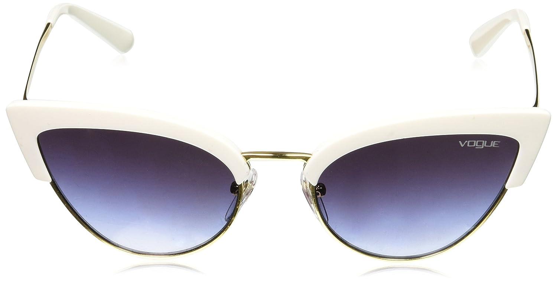 Amazon.com: Vogue Mujer Plástico para mujer Cateye anteojos ...