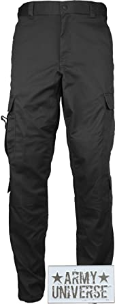 Amazon.com: Uniform 9 Pocket Cargo Pants, Poly Cotton Work Pants ...