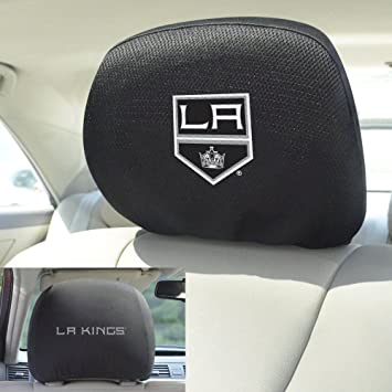 Awesome Amazon Com Los Angeles Kings Head Rest Covers Automotive Evergreenethics Interior Chair Design Evergreenethicsorg
