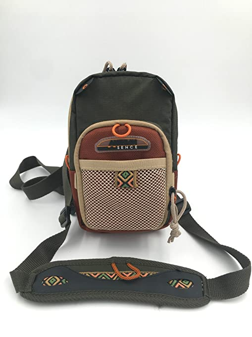 Image Unavailable. Image not available for. Color  Rudder Fly Fishing Chest  Pack Bag ... 2ee5a3fc76c94