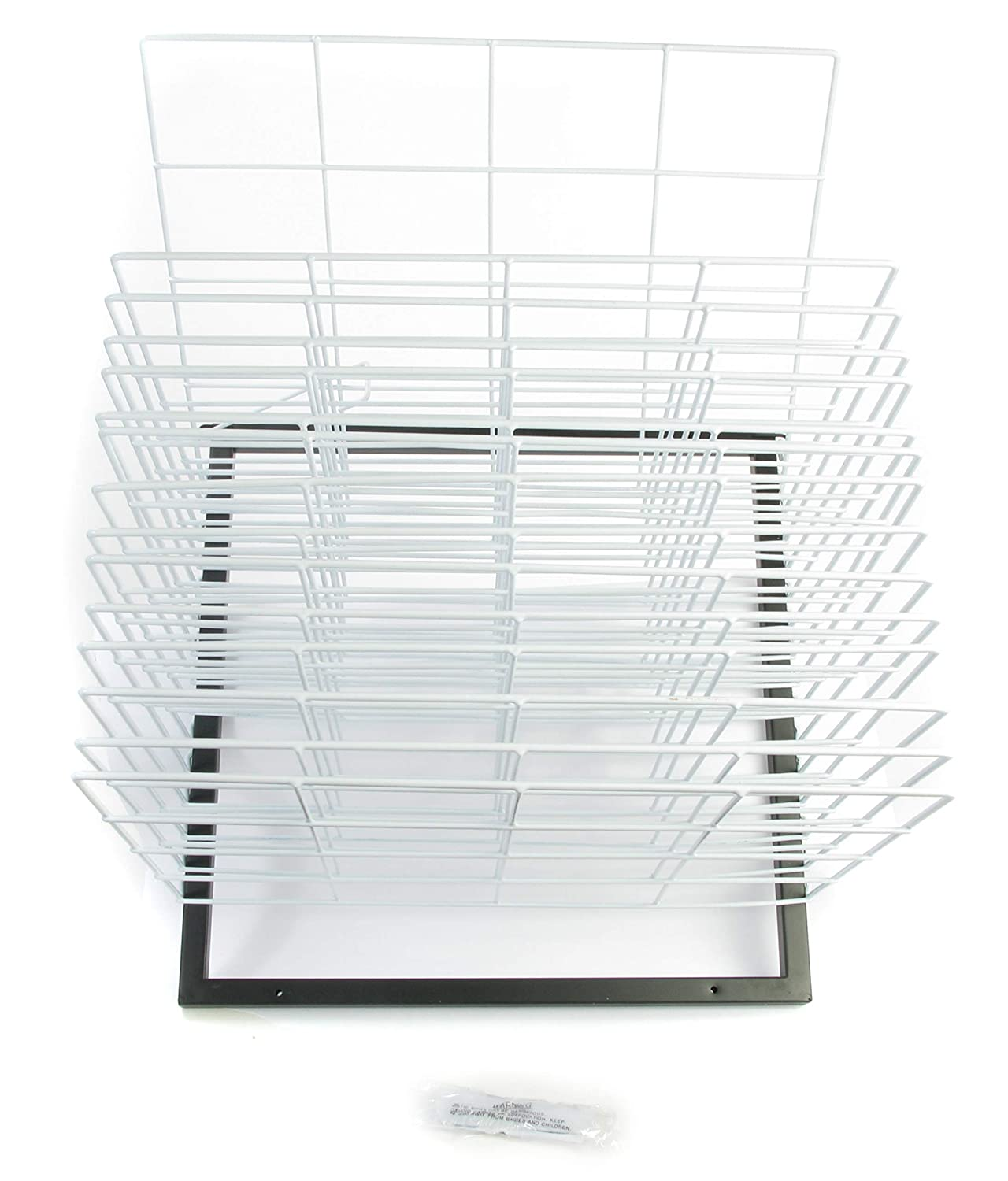 7 Height 33 Length American Educational Products A-C1160 Robo Wall Mounted Drying Rack 15 Shelf 21 Wide