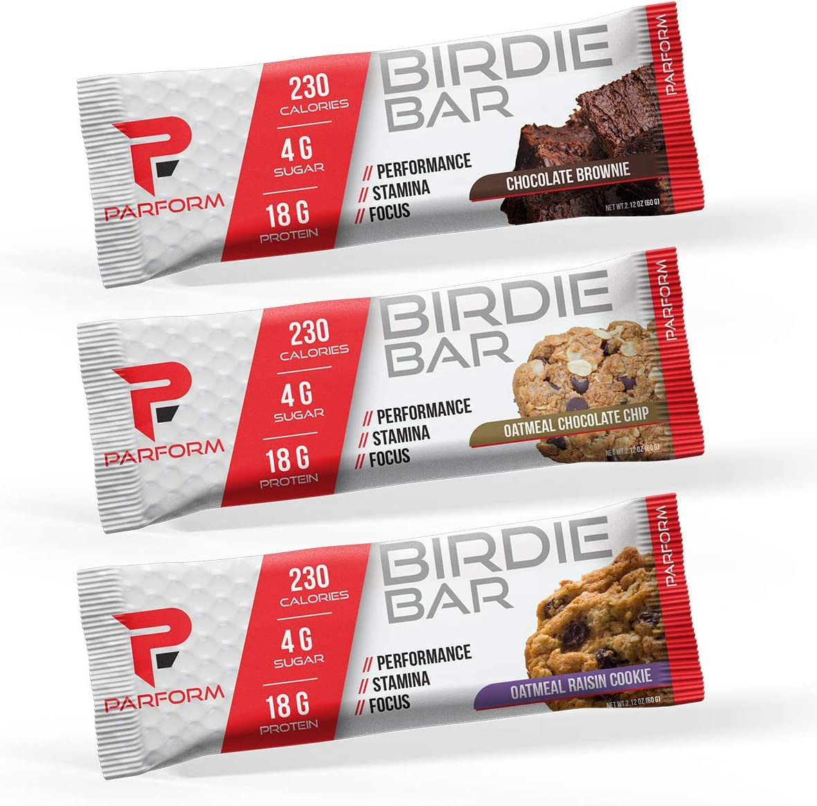 Parform Birdie Bar High Protein Bar All-In-One Performance Nutrition Bar 230 Calorie