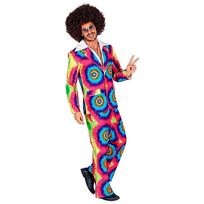 WIDMANN 09333 - Disfraz de los años 70 para hombre ...