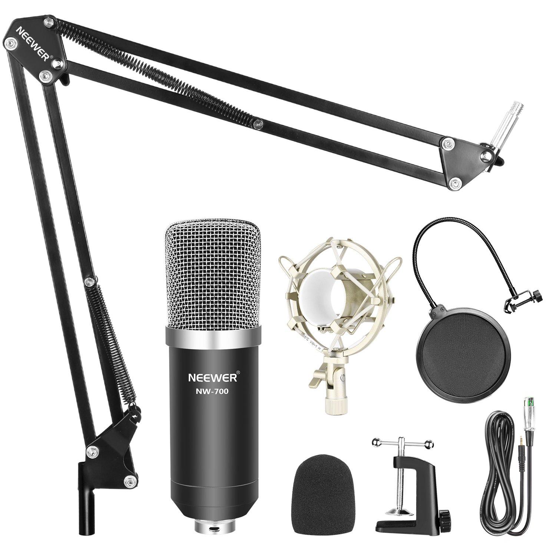 Neewer Nw-700 Pro Kit De Microfono Para Pc Con Adaptador