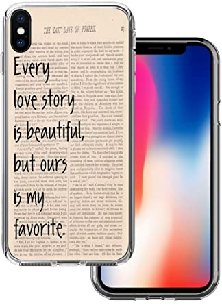 Amazon Com Case For Iphone X Quotes About Love Cclot Flexible